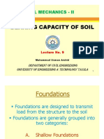 Analysis report Soil Mechanics