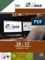 AQP - IoGAS, 16 y 17 de Febrero.