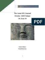 AEFLJ Volume 20 Issue 10 October 2018