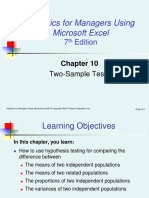 Sesi 5 TWO SAMPLE TEST Levine_smume7_ch10.ppt