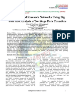 International Research Networks Using Big Data and Analysis of NetStage Data Transfers