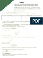 موضوع تجريبي في اللغة الفرنسية للتحضير لشهادة التعليم المتوسط 8