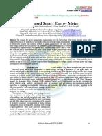 IOT Based Smart Energy Meter