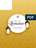 Gifts of Ramadan Volume One - Shaykh Faid Mohammed Said