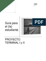 Rubrica avances proyecto