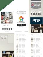 Sw PDF Top 50 Colors 2018