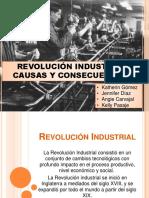 Causas y Consecuencias - Revolucion Industrial