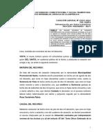 Cas. 15815 2016 Del Santa Legis.pe