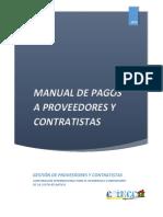 Diseño de Manual de Pagos a Proveedores y Contratistas - Coincca