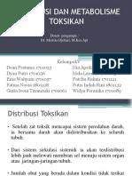 KELOMPOK 4 DISTRIBUSI DAN METABOLISME TOKSIKAN.pptx