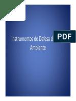 Instrumentos de Defesa Do Ma