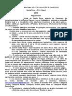 Ix Concurso Internacional de Contos Vicente Cardoso