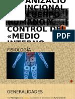 Organización Funcional del Cuerpo Humano y Medio Interno