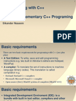 Programming with C++_Lecture 2