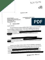 Citigroup Inc. Correspon September 24 2008 (6 Pages)