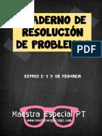 Cuaderno de Resolución de-Problemas 2 y 3 de Primaria