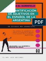 Kornfeld - La cuantificación de adjetivos en el español de Argentina.pdf