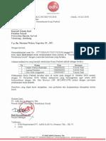 212 - 16 Juli 2018 Persetujuan Permohonan Kerja Praktek UNHASY
