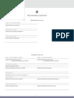 ESTI Fleischner 2019 Programme Overview