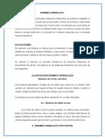 SISTEMAS ARTIFICIALES HIDRAULICOS