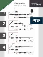 Diagramas de Conexion Microfono Epcom Titanium