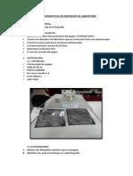 Reconocimiento de Los Materiales de Laboratorio