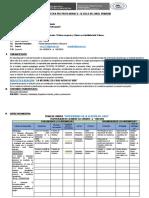 Sílabo Oficial Pràctica Ix Primaria-piedad 2018