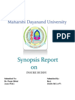 Synopsis Report