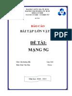 BTL mạng 5g