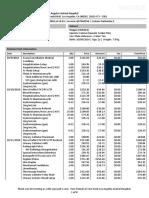 Hopps Surgery Hospitalization Invoice 10/31/18