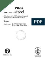 GRAMSCI  Cuadernos de la Carcel 1.pdf