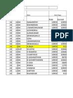 Chennai Salary Calculator for FEB 2019