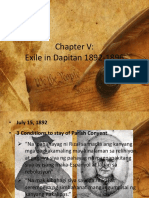 Exile in Dapitan 1892-1896