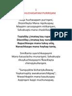 Himno Quechua Honorato 1