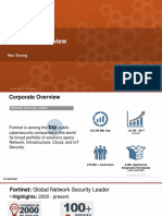 Overview Fortinet