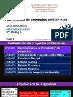 Generalidades de Los Proyectos