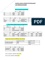 Correction Examen Controle de Gestion Messaoudi Mohamed Ouallal