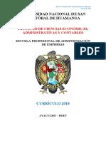 Plan de Estudios 2018 Escuela de ADMINISTRACIÓN.pdf