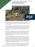 Prefeitura convoca sociedade a participar dos debates sobre revisão do Plano Diretor _ Prefeitura Municipal de Ponta Porã
