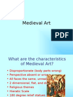 Medieval & Renaissance Art Comparison
