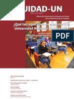 Equidad-UN. Boletín del Observatorio de Asuntos de Género. No. 1