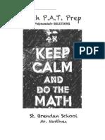 polynomials - solutions