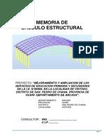 01 Memoria de Calculo Estructural