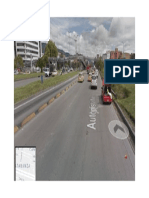 Autopista Norte en Bogota