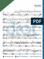 DROT - Cien Años - Partitura Completa