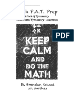 lines of symmetry - rotational symmetry solutions