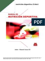 Manual Nutricion Deport