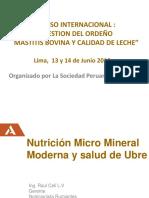 7_Raúl Celi - La Nutricion Mineral Moderna y Salud de Ubre_Buiatria2018