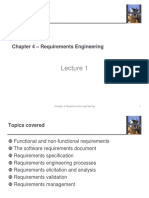 Chap 4 - Requirements Engineering 1