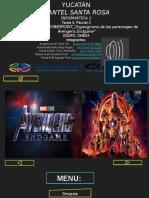TAREA 4 Avengers End Game